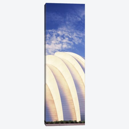 Low angle view of an entertainment building, Kauffman Center For The Performing Arts, Moshe Safdie, Kansas City, Missouri, USA Canvas Print #PIM10776} by Panoramic Images Canvas Art Print