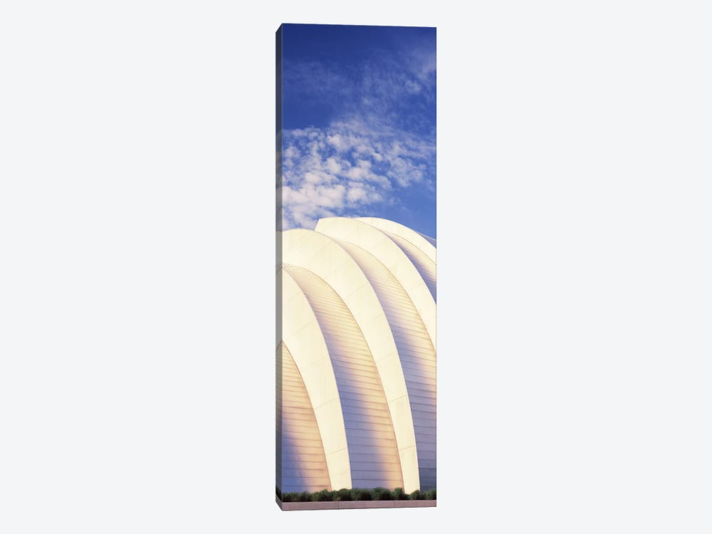 Low angle view of an entertainment building, Kauffman Center For The Performing Arts, Moshe Safdie, Kansas City, Missouri, USA by Panoramic Images 1-piece Canvas Wall Art