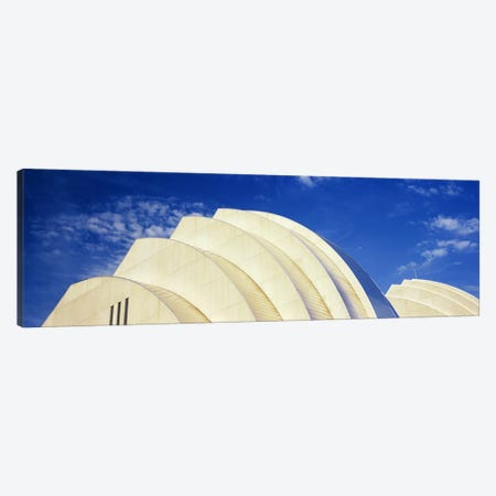Low-Angle View Of The Top Of The Half Shells, Kauffman Center For The Performing Arts, Kansas City, Missouri, USA Canvas Print #PIM10778} by Panoramic Images Canvas Artwork