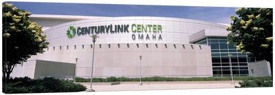Facade of a convention center, Century Link Center, Omaha, Nebraska, USA Canvas Art Print