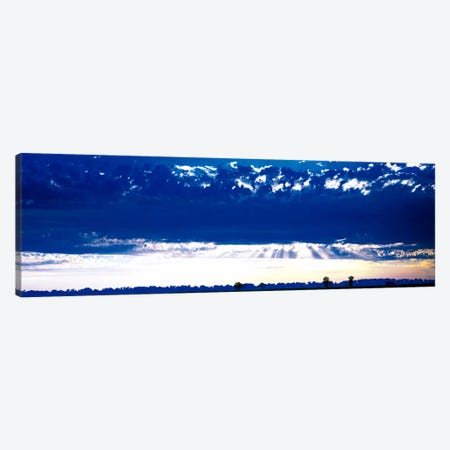 Evening Clouds Sacramento CA USA Canvas Print #PIM1077} by Panoramic Images Art Print