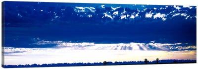 Evening Clouds Sacramento CA USA Canvas Print #PIM1077