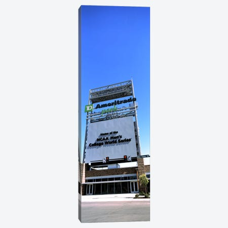 Sign board at a convention center, Century Link Center, Omaha, Nebraska, USA Canvas Print #PIM10780} by Panoramic Images Canvas Print