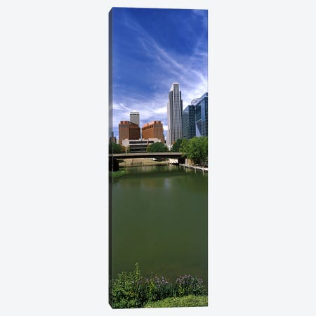 Buildings at the waterfront, Omaha, Nebraska, USA Canvas Print #PIM10782} by Panoramic Images Canvas Print