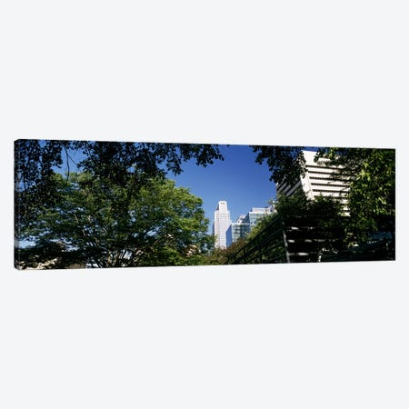 Buildings in a city, Qwest Building, Omaha, Nebraska, USA #2 Canvas Print #PIM10789} by Panoramic Images Art Print