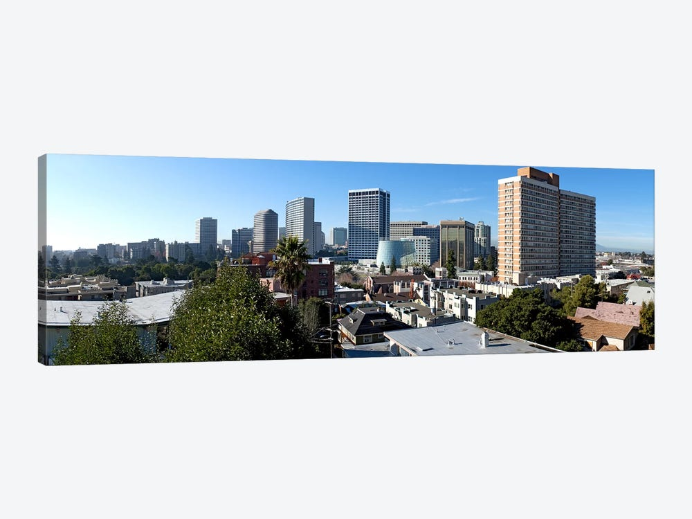 View over Oakland from Adams Point, California, USA by Panoramic Images 1-piece Canvas Wall Art