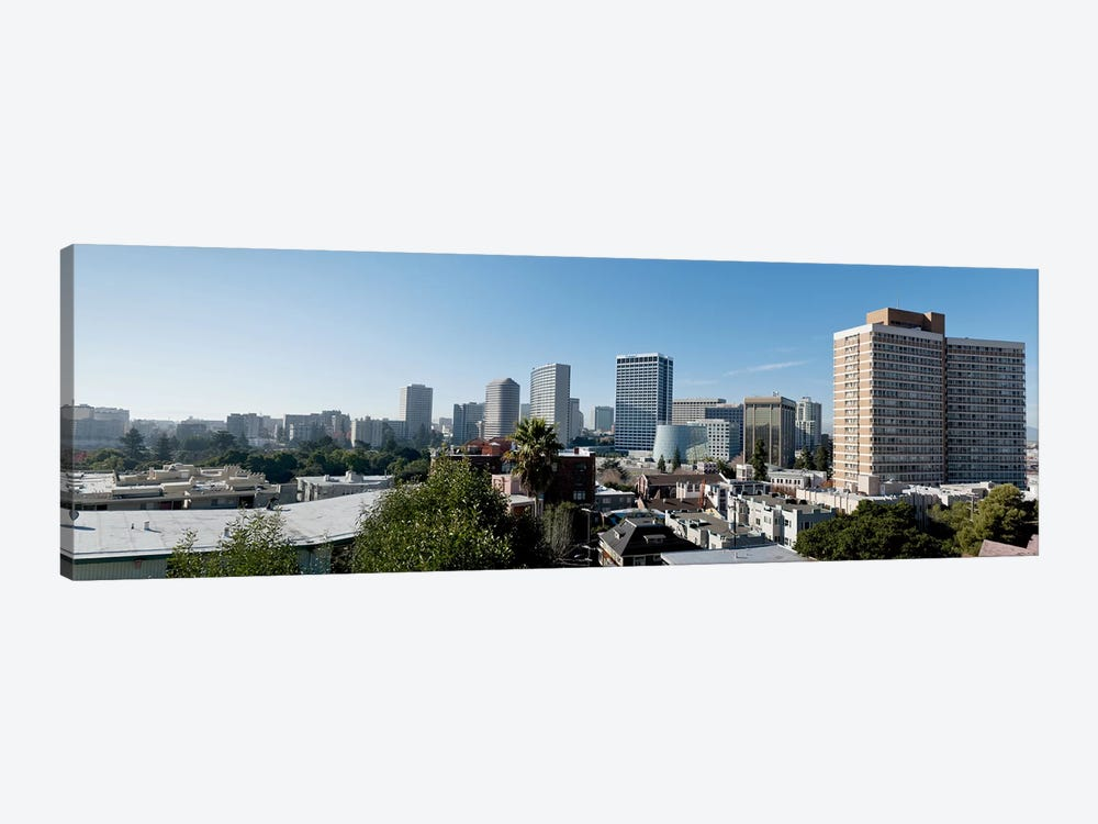 View over Oakland from Adams Point, California, USA #2 by Panoramic Images 1-piece Canvas Artwork