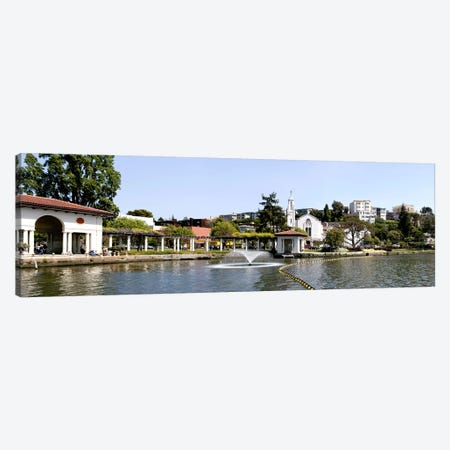 Lake Merritt in Oakland, California, USA Canvas Print #PIM10793} by Panoramic Images Canvas Artwork