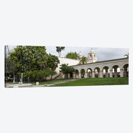 Colonnade in Balboa Park, San Diego, California, USA Canvas Print #PIM10803} by Panoramic Images Canvas Artwork