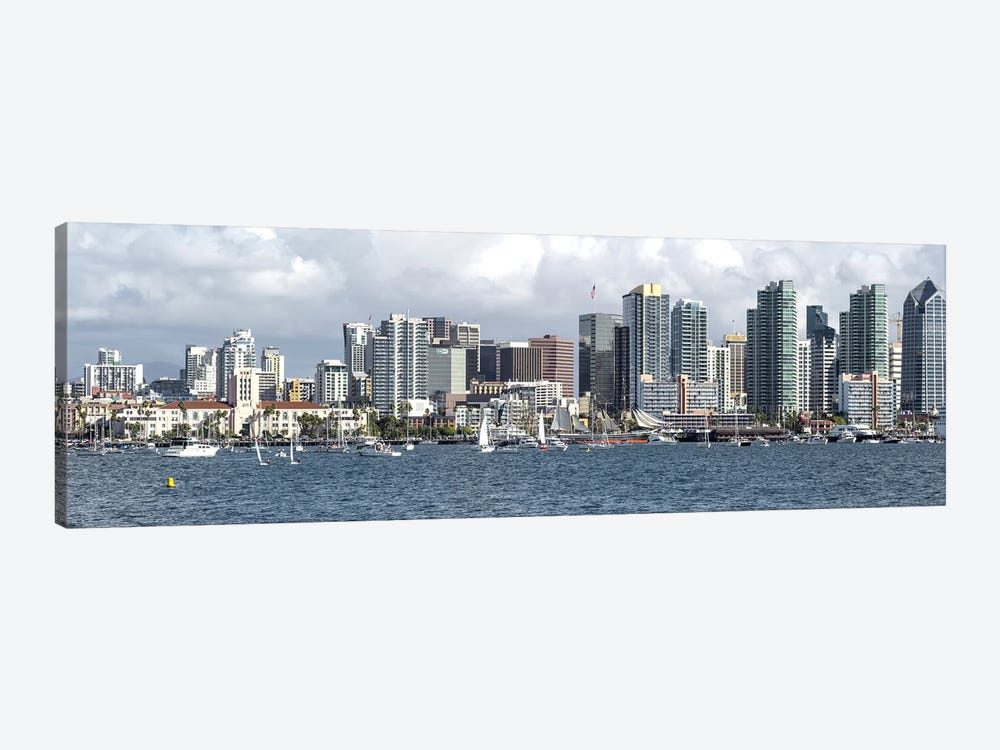 Buildings at the waterfront, San Diego, California, USA by Panoramic Images 1-piece Art Print
