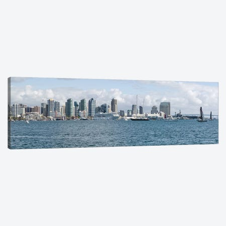 Buildings at the waterfront, San Diego, California, USA #3 Canvas Print #PIM10806} by Panoramic Images Canvas Art Print
