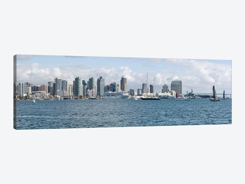 Buildings at the waterfront, San Diego, California, USA #3 by Panoramic Images 1-piece Canvas Print