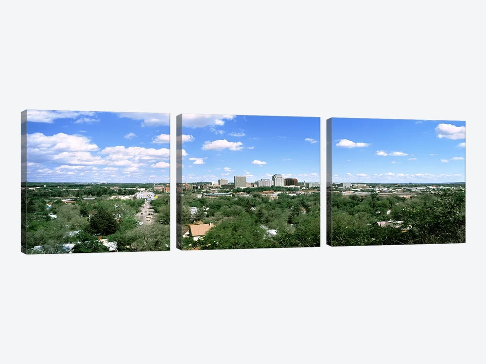 Buildings in a city, Colorado Springs, Colorado, USA #2 by Panoramic Images 3-piece Art Print