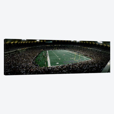 Spectators in an American football stadiumHubert H. Humphrey Metrodome, Minneapolis, Minnesota, USA Canvas Print #PIM10811} by Panoramic Images Canvas Art Print