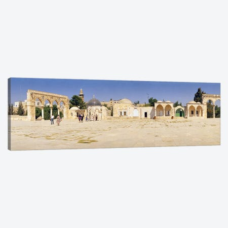 Temple of Rocks, Dome of The Rock, Temple Mount, Jerusalem, Israel Canvas Print #PIM10814} by Panoramic Images Canvas Wall Art