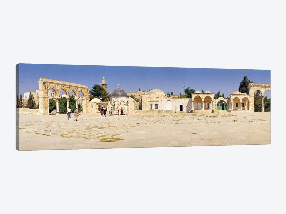 Temple of Rocks, Dome of The Rock, Temple Mount, Jerusalem, Israel by Panoramic Images 1-piece Canvas Wall Art