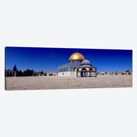 Dome of The Rock, Temple Mount, Jerusalem, Israel Canvas Print #PIM10816} by Panoramic Images Canvas Art