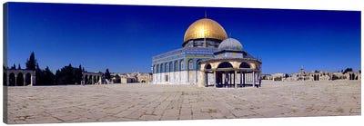 Dome of The Rock, Temple Mount, Jerusalem, Israel Canvas Print #PIM10816