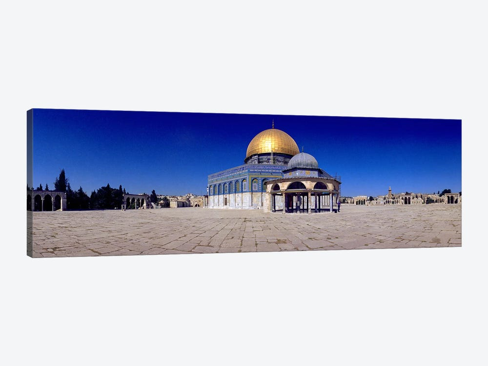 Dome of The Rock, Temple Mount, Jerusalem, Israel by Panoramic Images 1-piece Canvas Artwork