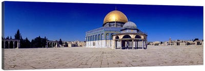 Dome of The Rock, Temple Mount, Jerusalem, Israel Canvas Art Print
