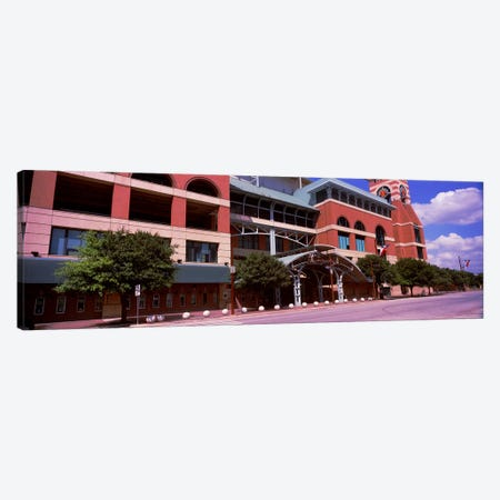 Facade of a baseball stadium, Minute Maid Park, Houston, Texas, USA Canvas Print #PIM10821} by Panoramic Images Canvas Wall Art