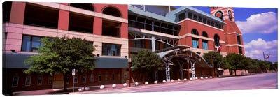Facade of a baseball stadium, Minute Maid Park, Houston, Texas, USA Canvas Print #PIM10821