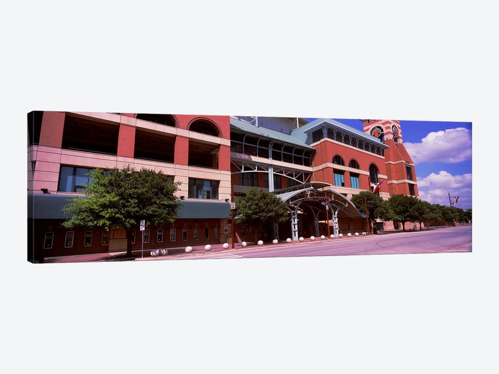 Facade of a baseball stadium, Minute Maid Park, Houston, Texas, USA by Panoramic Images 1-piece Canvas Artwork