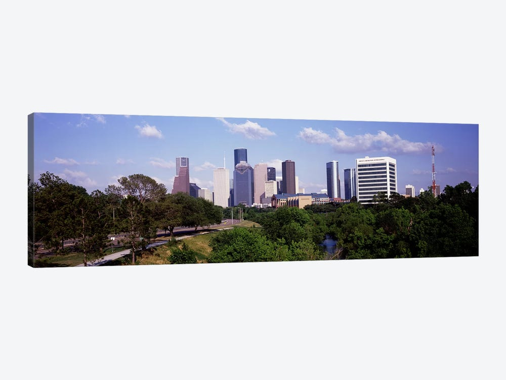 Downtown skylines, Houston, Texas, USA #2 by Panoramic Images 1-piece Canvas Art Print