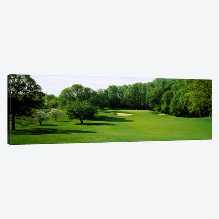 Trees On A Golf Course, Baltimore Country Club, Baltimore, Maryland, USA Canvas Print #PIM1082} by Panoramic Images Art Print