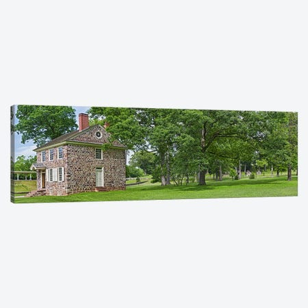 Buildings in a farm, Washington's Headquarters, Valley Forge National Historic Park, Philadelphia, Pennsylvania, USA Canvas Print #PIM10834} by Panoramic Images Canvas Art