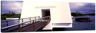 USS Arizona Memorial, Pearl Harbor, Honolulu, Hawaii, USA Canvas Print #PIM10863