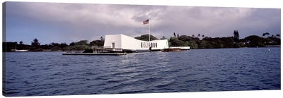 USS Arizona Memorial, Pearl Harbor, Honolulu, Hawaii, USA #2 Canvas Print #PIM10864