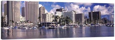 Downtown Honolulu, Oahu, Hawaii, USA Canvas Print #PIM10865