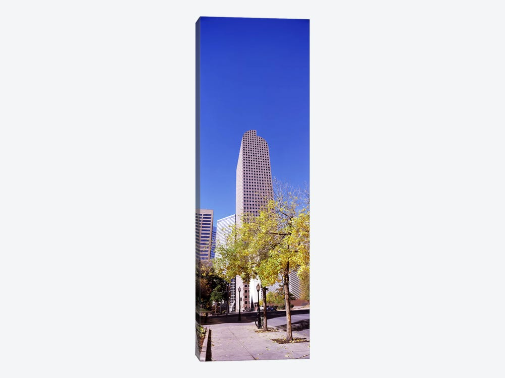 Mailbox building in a city, Wells Fargo Center, Denver, Colorado, USA by Panoramic Images 1-piece Canvas Artwork