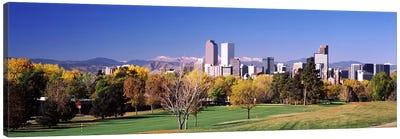 Buildings of Downtown Denver, Colorado, USA Canvas Print #PIM10872