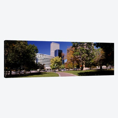 The Denver Post Building, Denver, Colorado, USA Canvas Print #PIM10873} by Panoramic Images Art Print