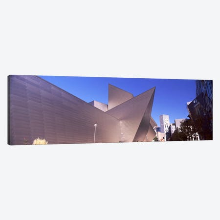 Art museum in a city, Denver Art Museum, Frederic C. Hamilton Building, Denver, Colorado, USA Canvas Print #PIM10875} by Panoramic Images Canvas Artwork