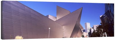 Art museum in a city, Denver Art Museum, Frederic C. Hamilton Building, Denver, Colorado, USA Canvas Art Print
