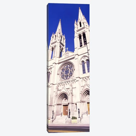 Facade of Cathedral Basilica of the Immaculate Conception, Denver, Colorado, USA Canvas Print #PIM10876} by Panoramic Images Canvas Art
