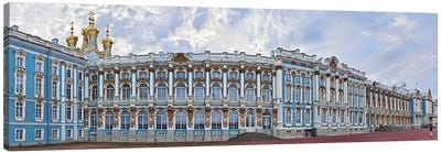 Catherine Palace courtyard, Tsarskoye Selo, St. Petersburg, Russia Canvas Art Print