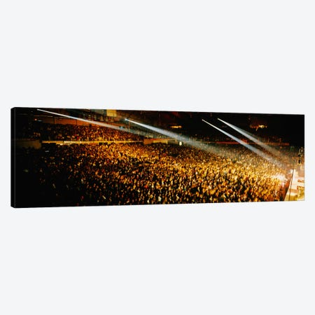 Rock Concert Interior Chicago IL USA Canvas Print #PIM1092} by Panoramic Images Canvas Wall Art