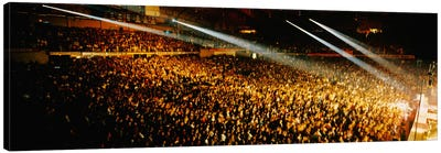 Rock Concert Interior Chicago IL USA Canvas Print #PIM1092