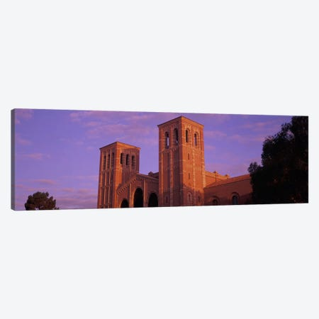 Low angle view of Royce Hall at university campus, University of California, Los Angeles, California, USA Canvas Print #PIM10948} by Panoramic Images Canvas Art Print