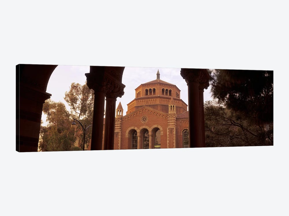 Powell Library at an university campus, University of California, Los Angeles, California, USA by Panoramic Images 1-piece Canvas Print