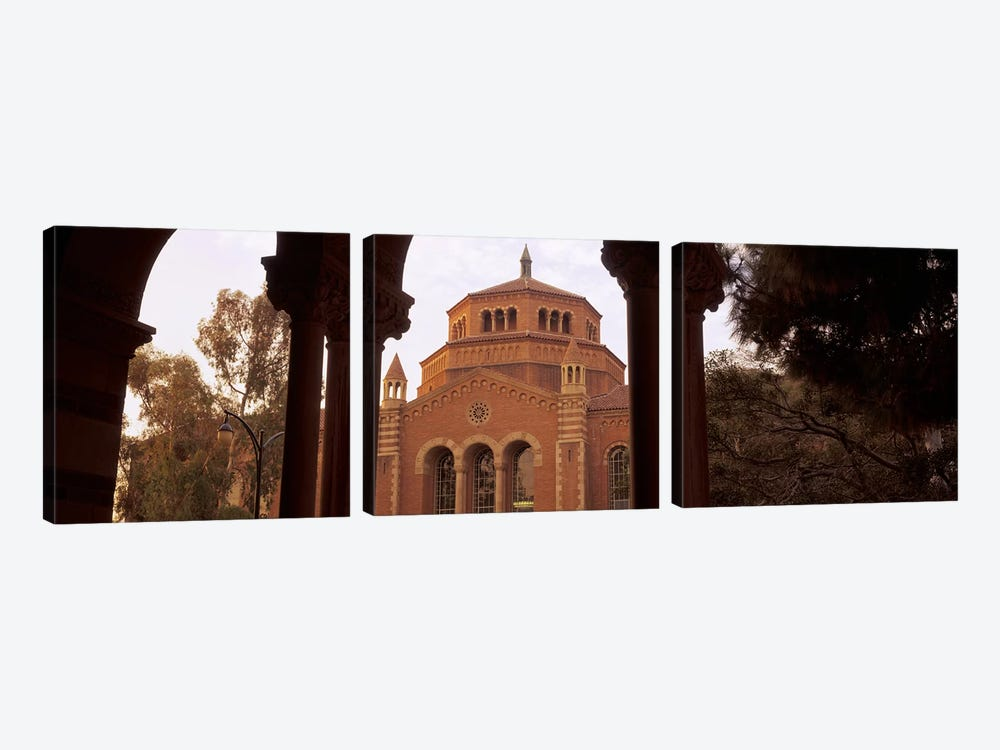 Powell Library at an university campus, University of California, Los Angeles, California, USA by Panoramic Images 3-piece Art Print