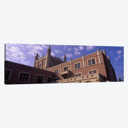 Low angle view of Kerckhoff Hall, University of California, Los Angeles, California, USA Canvas Print #PIM10953} by Panoramic Images Canvas Artwork