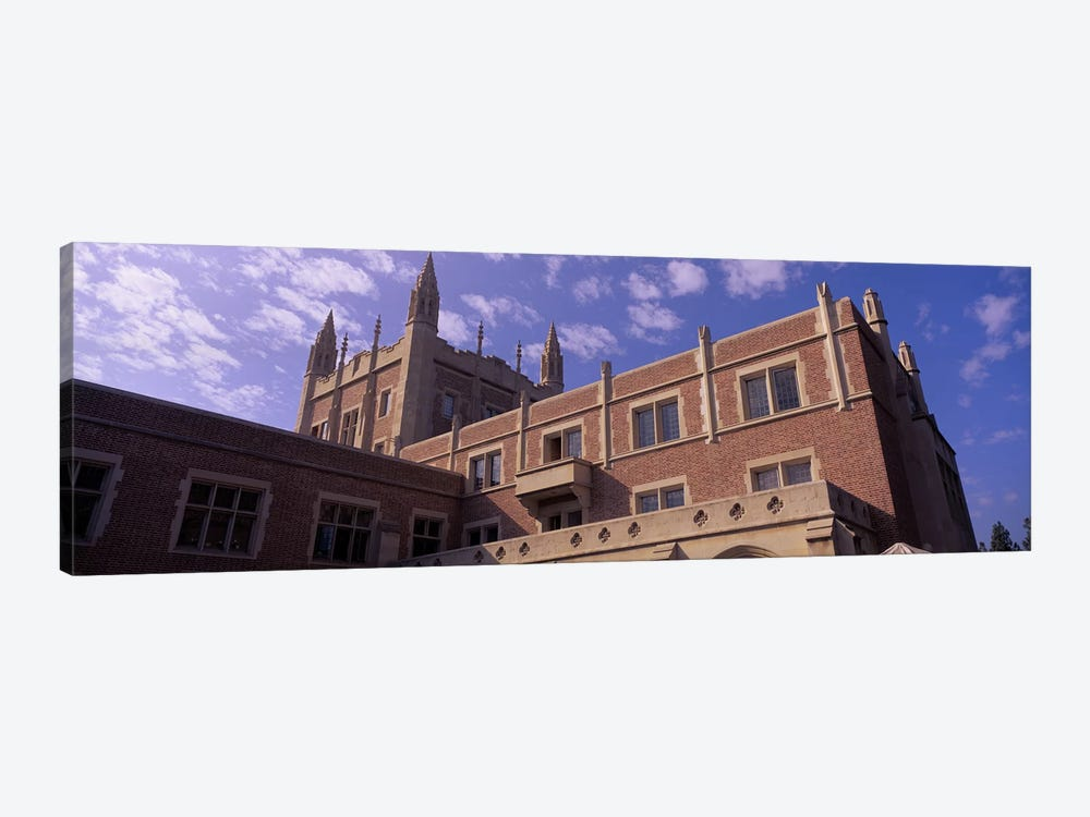 Low angle view of Kerckhoff Hall, University of California, Los Angeles, California, USA 1-piece Canvas Art