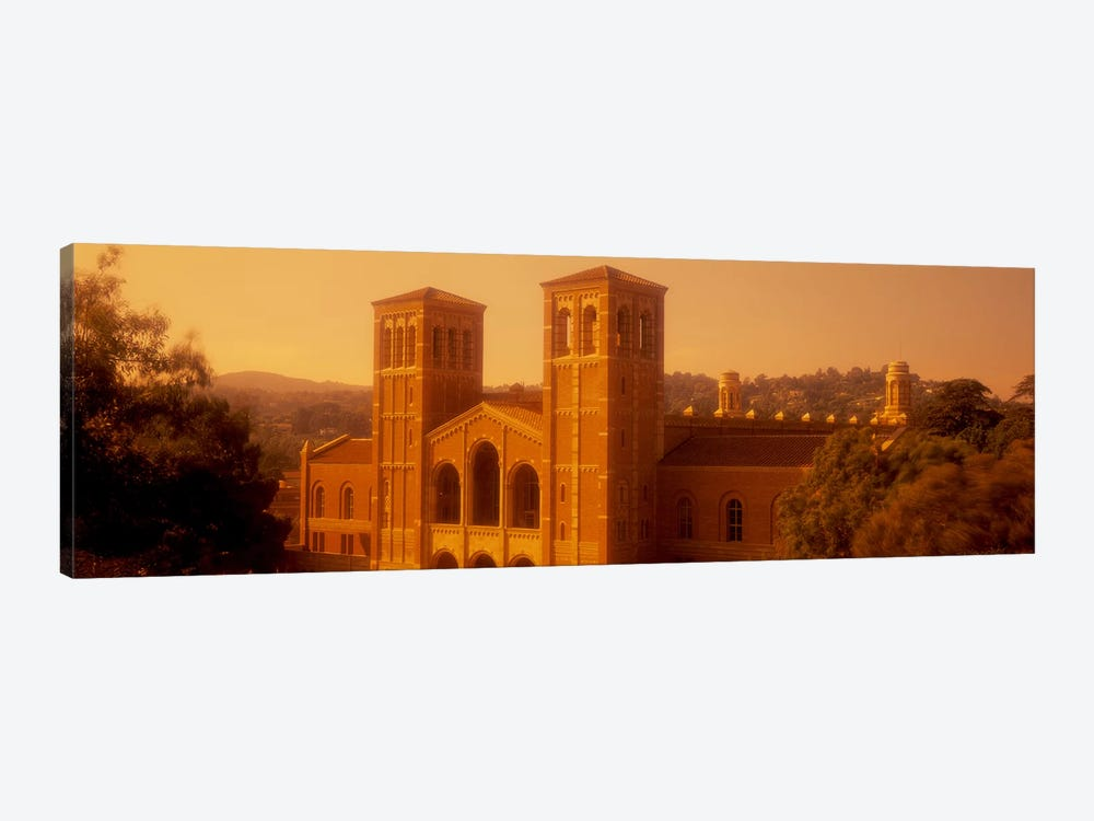 Royce Hall at an university campus, University of California, Los Angeles, California, USA by Panoramic Images 1-piece Canvas Print