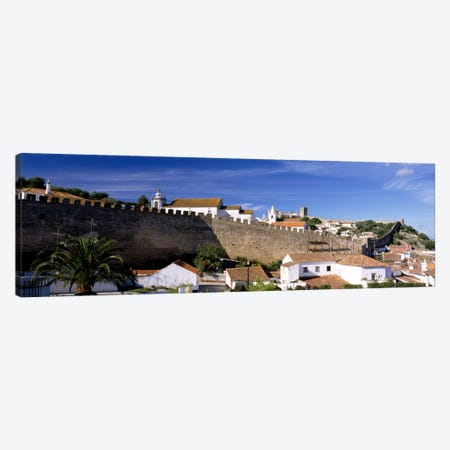 Obidos Portugal Canvas Print #PIM1095} by Panoramic Images Canvas Print
