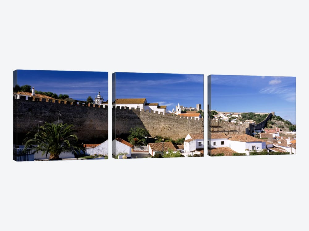 Obidos Portugal by Panoramic Images 3-piece Canvas Artwork